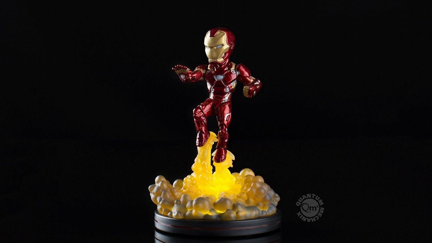 マーベル 『シビル・ウォー キャプテン・アメリカ』アイアンマン マーク46  フィギュア  Marvel Iron-Man Mark46  Quantum Mechanix  Qmx Figure