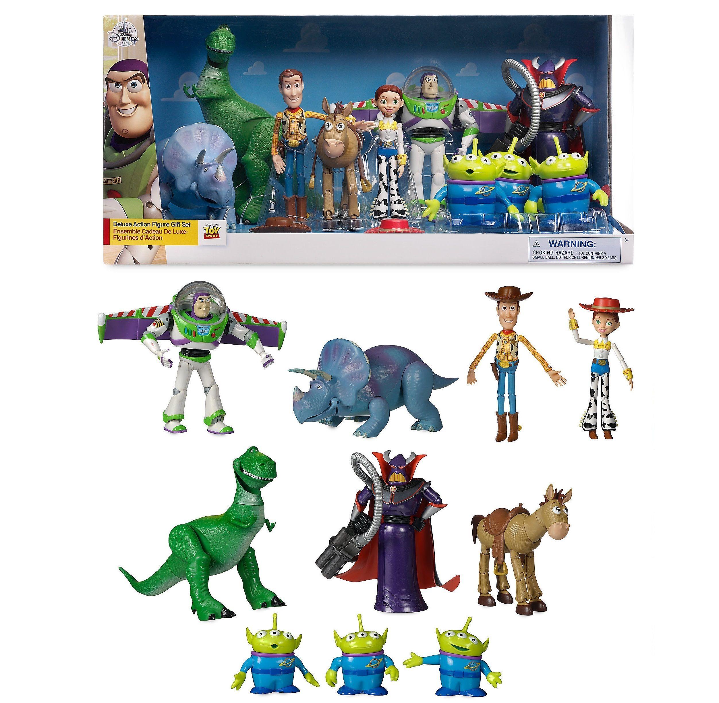 トイストーリー デラックス アクションフィギュア ギフトセット Toy Story Deluxe Action Figure Gift Set