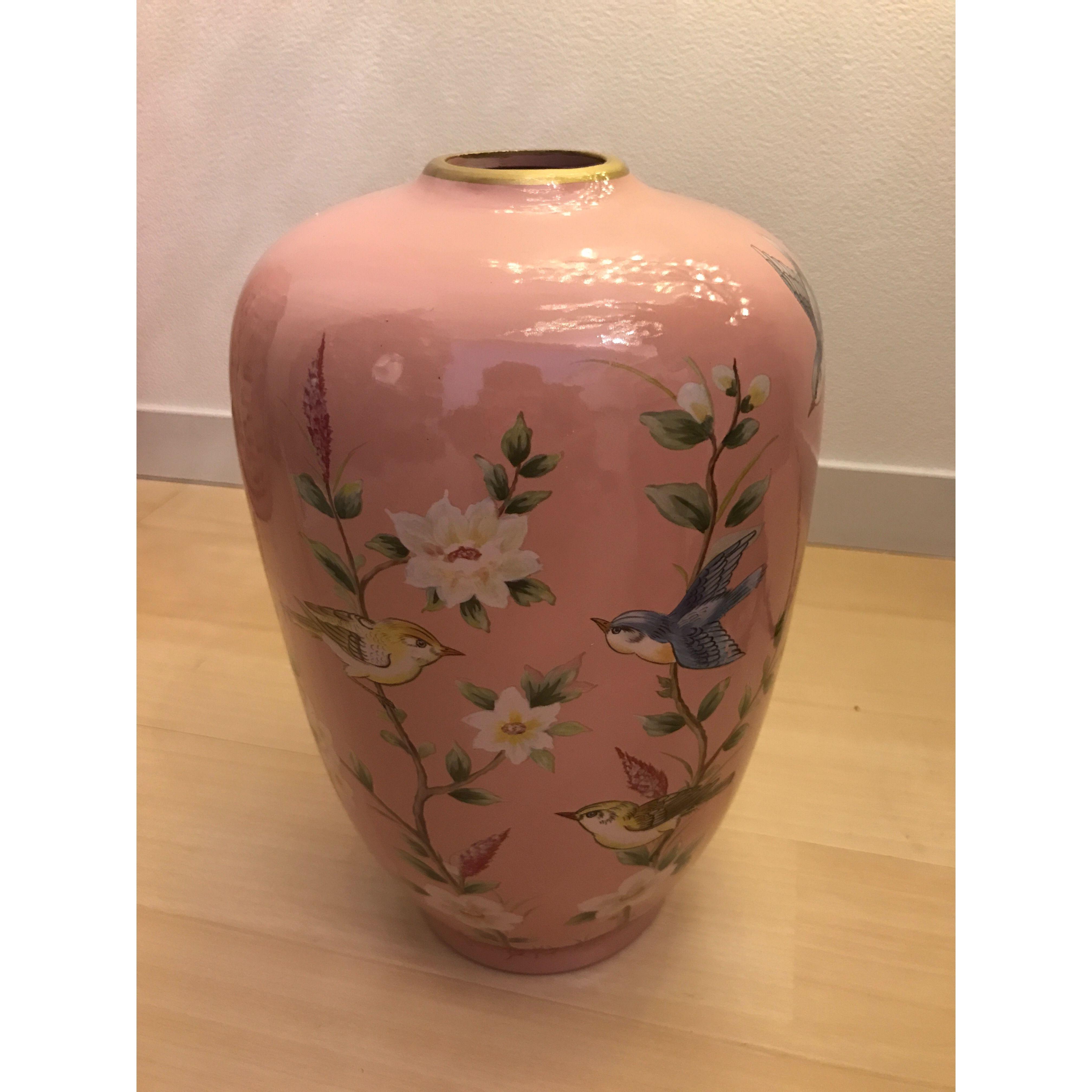 予約販売?小鳥さん陶器蓋なしピンク