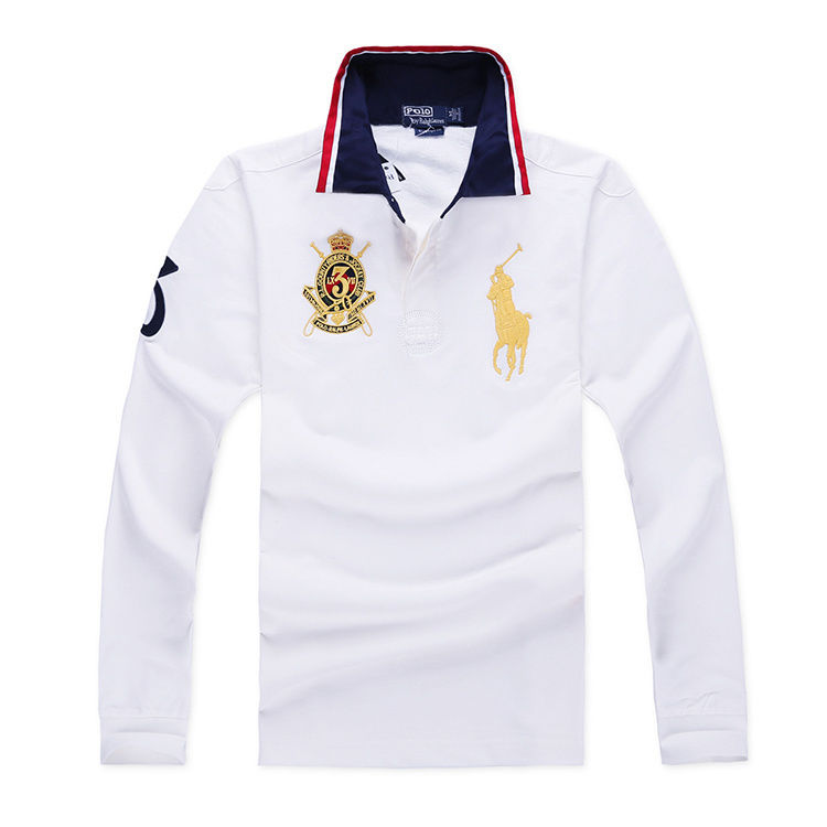 新品 ポロ・ラルフローレン 長袖 Tシャツ メンズ   4色 美品