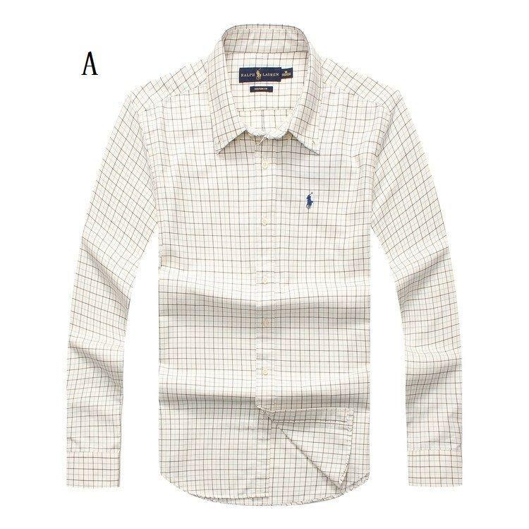 高品質★ ポロ・ラルフローレン Tシャツ チェック柄 メンズファッション