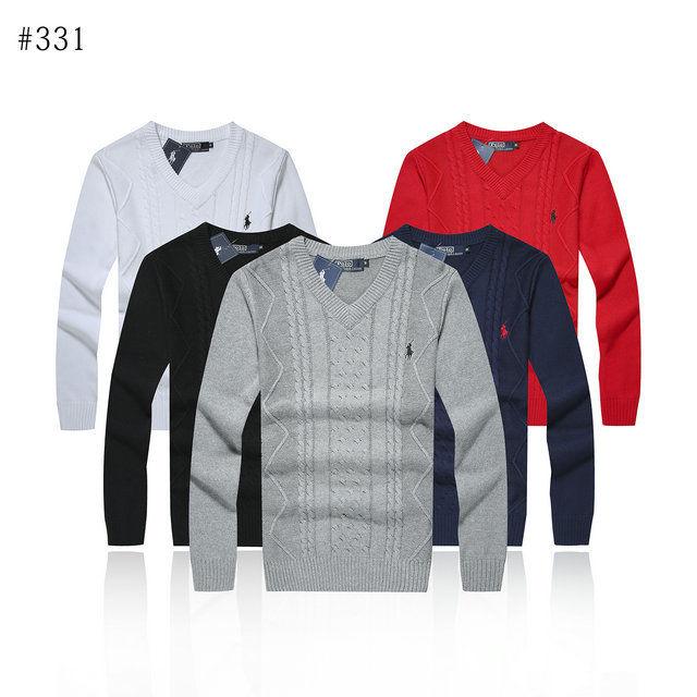 人気新品 ポロ・ラルフローレン/RalphLauren 長袖 セーター ニット  メンズ 5色