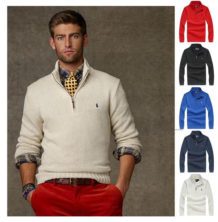 5色選択!大人気 ポロラルフローレン Ralph Lauren メンズ用 セーター XRL7005
