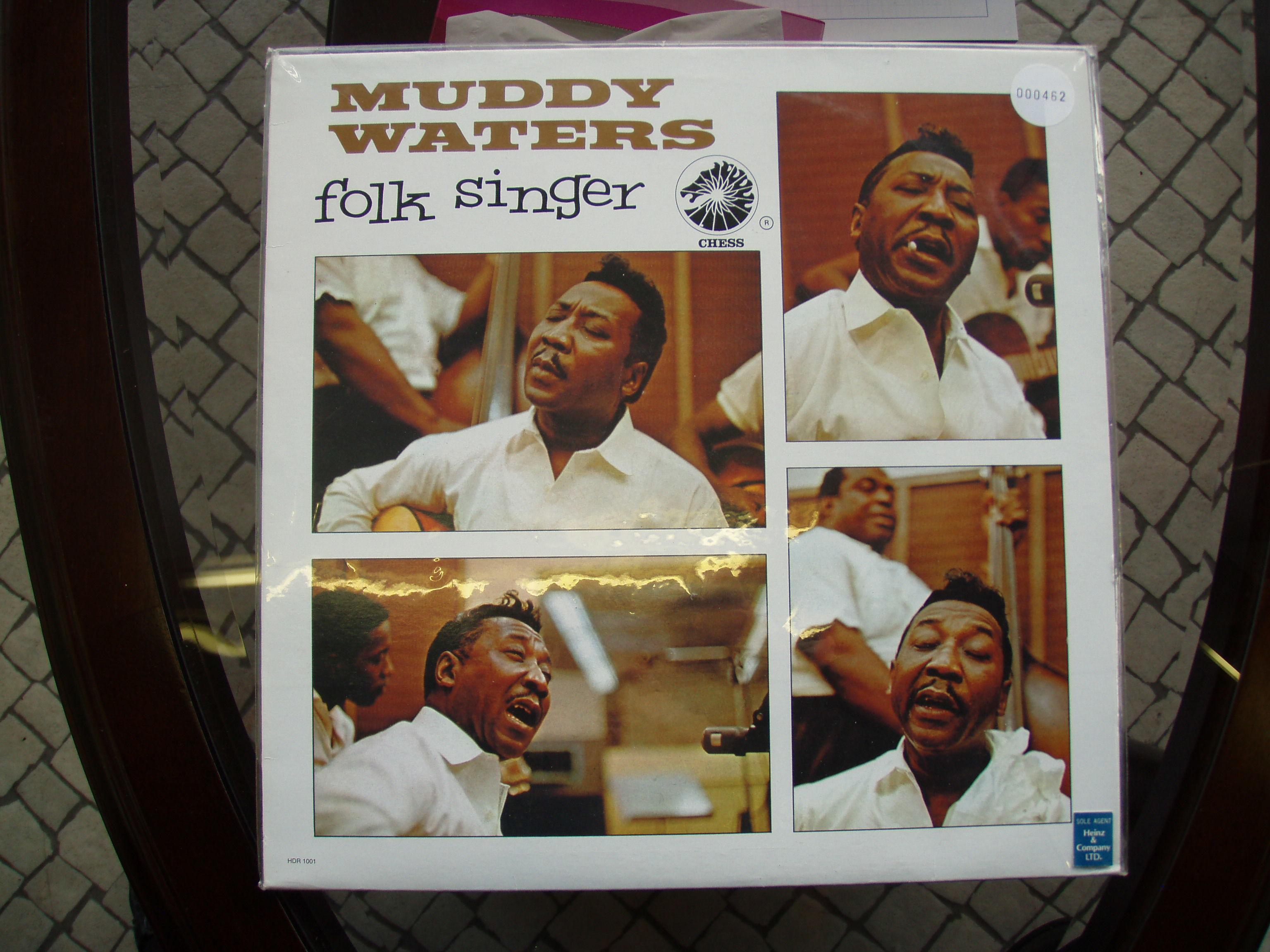 レコード MUDDY WATERS folk singer