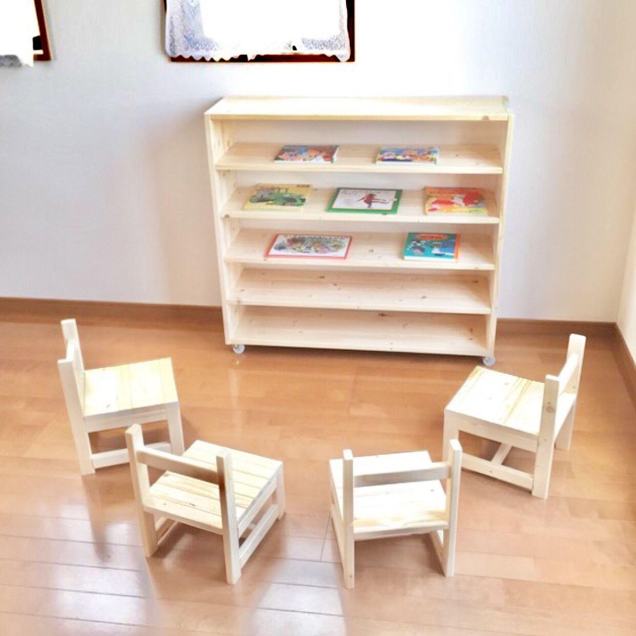 教具棚 本棚 サイズオーダーOK