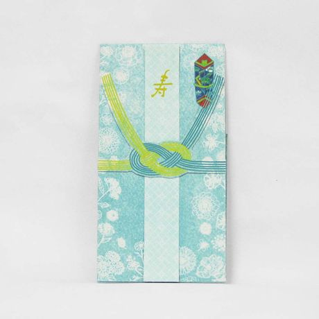 絵本のようなご祝儀袋【結婚祝用】 グリーン