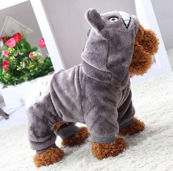 犬服☆トロロ風オールイン♪人気の超可愛いわんちゃんのお洋服