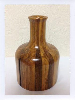 木製手作り組み木     壺