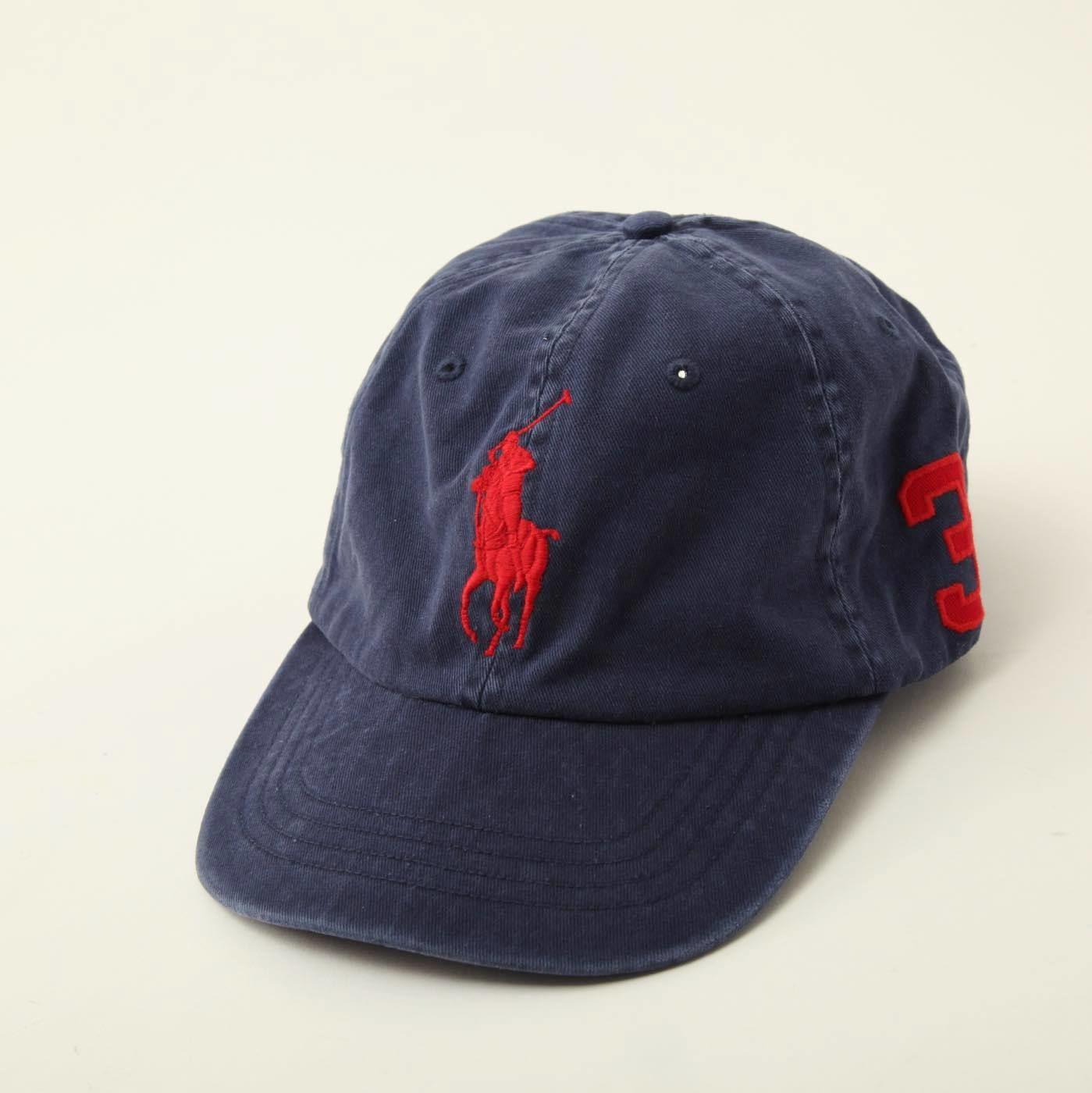★新品 Polo Ralph Lauren ラルフローレン◆キャップ 帽子●X48