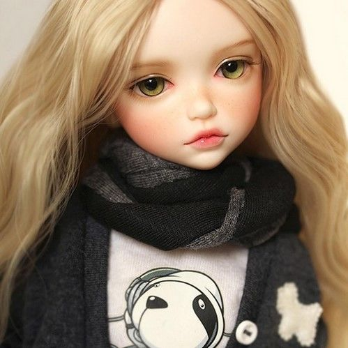 球体関節人形 本体+眼球+メイクアップ済 BJD カスタムドール 女の子 かわいい 幼SDサイズ 1/6 プレゼント 誕生日