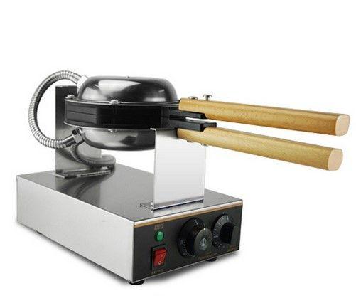 ワッフルメーカー 業務用 電気式 110V  香港発人気スイーツ エッグ バブル  ワッフルパンマフィンマシン バブルワッフル