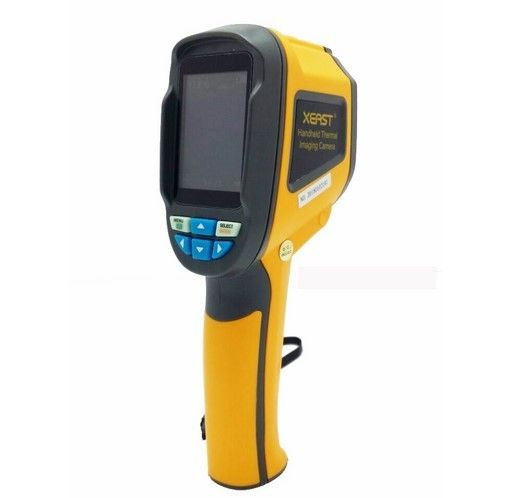 プロフェッショナルハンドヘルド熱イメージングカメラポータブル 赤外線イメージンデバイス 赤外線温度計IR熱 イメージンググ