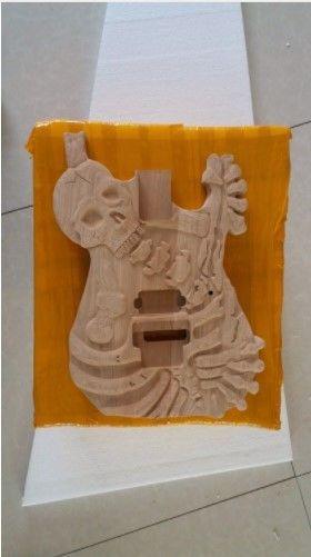 自作用 エレキギターボディ 未塗装 DIY