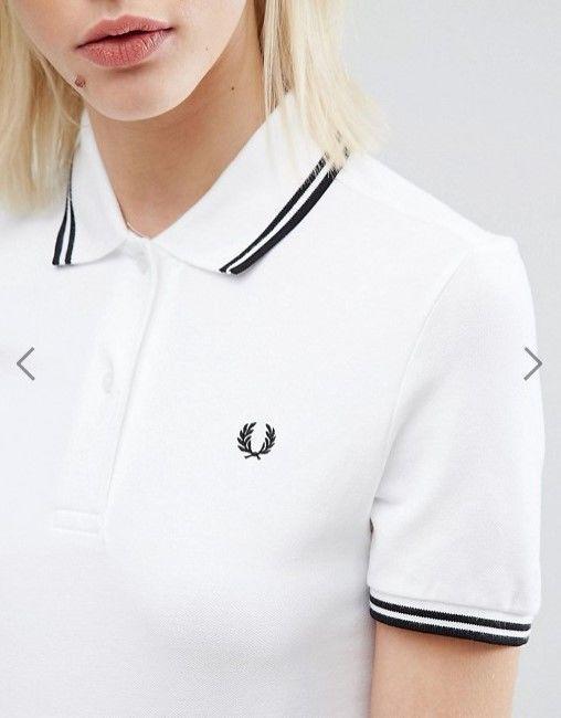 FRED PERRY フレッドペリー ポロシャツ ホワイト 半袖