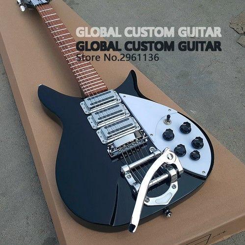 リッケンバッカー330タイプ エレキギター 初心者 扱いやすい rickenbacker グローバルカスタムギター 専用ハードケース付き