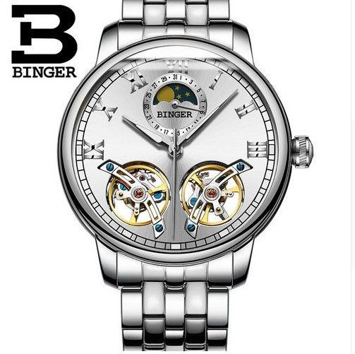 腕時計 メンズ スケルトン ブランド  デュアル トゥールビヨン 国内未発売 海外正規品