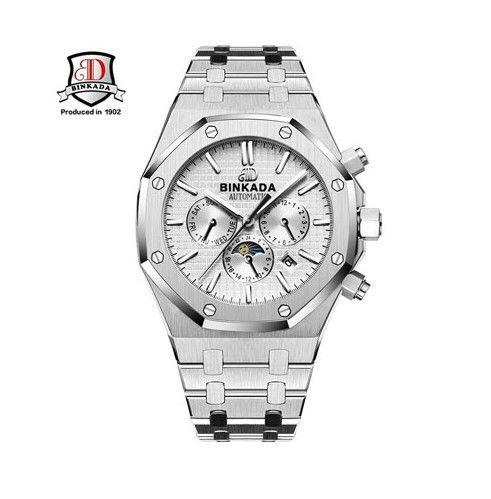 メンズ 高級腕時計 ブランド/自動巻き/ 防水/耐衝撃/コーティングガラス(ホワイト)