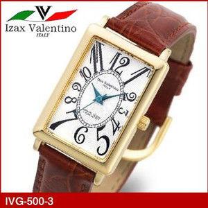 【80%OFF】Izax Valentino クォーツ腕時計(サファイアガラス)