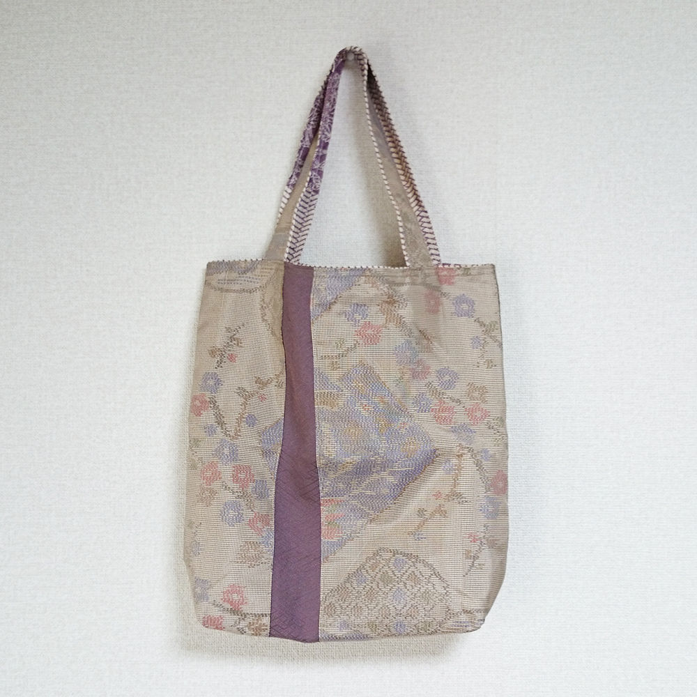 着物生地バッグ:商品番号012