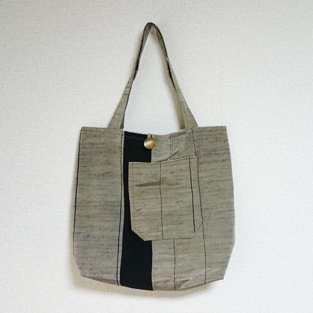着物生地バッグ:商品番号004