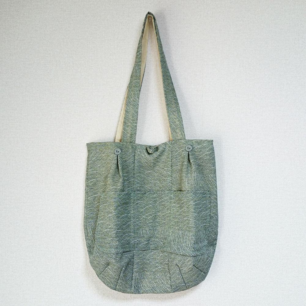 着物生地バッグ:商品番号007