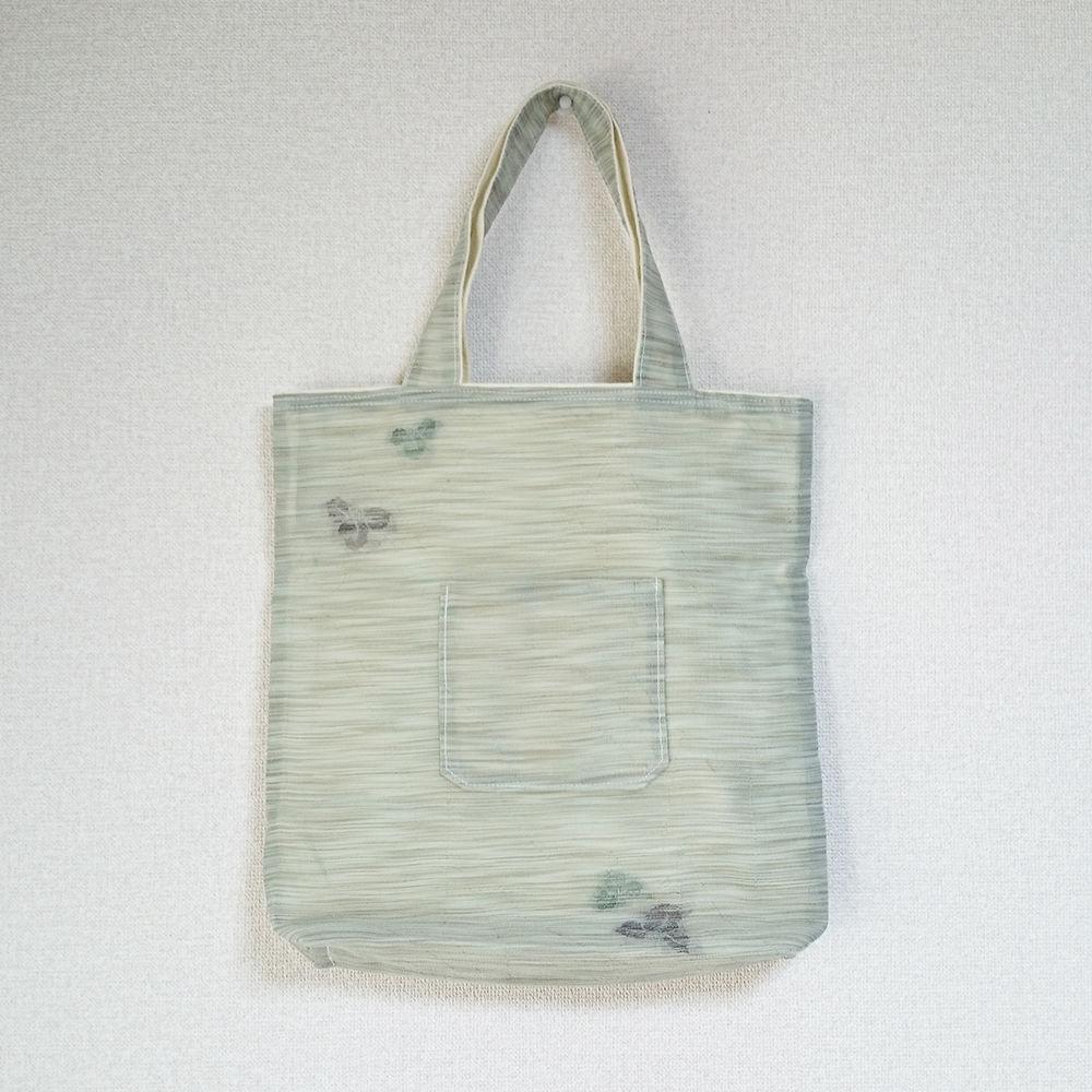着物生地バッグ:商品番号010