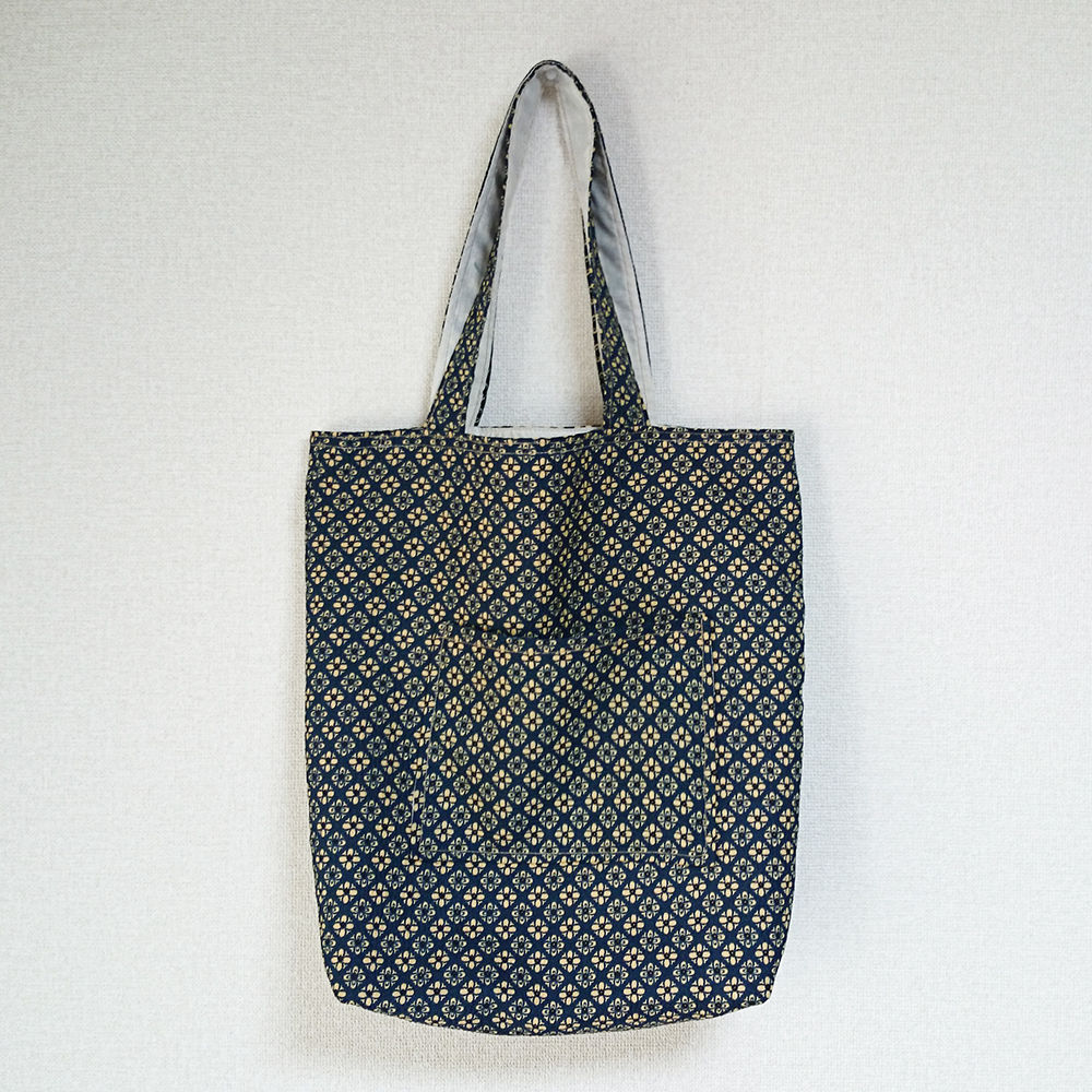 着物生地バッグ:商品番号008