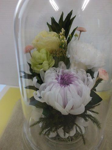 仏花のドーム1個
