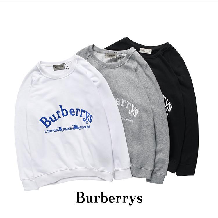 バーバリー BURBERRY スウェット 裏毛 カジュアル 長袖  トップスima-G09