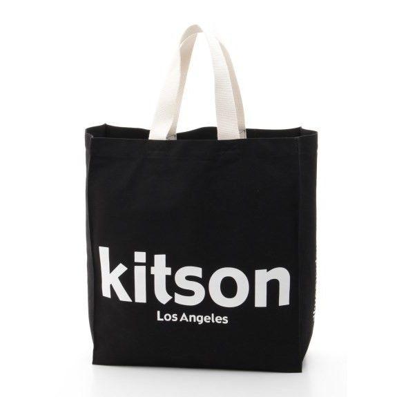 kitson キットソンオリジナルショッパートート(ブラック)