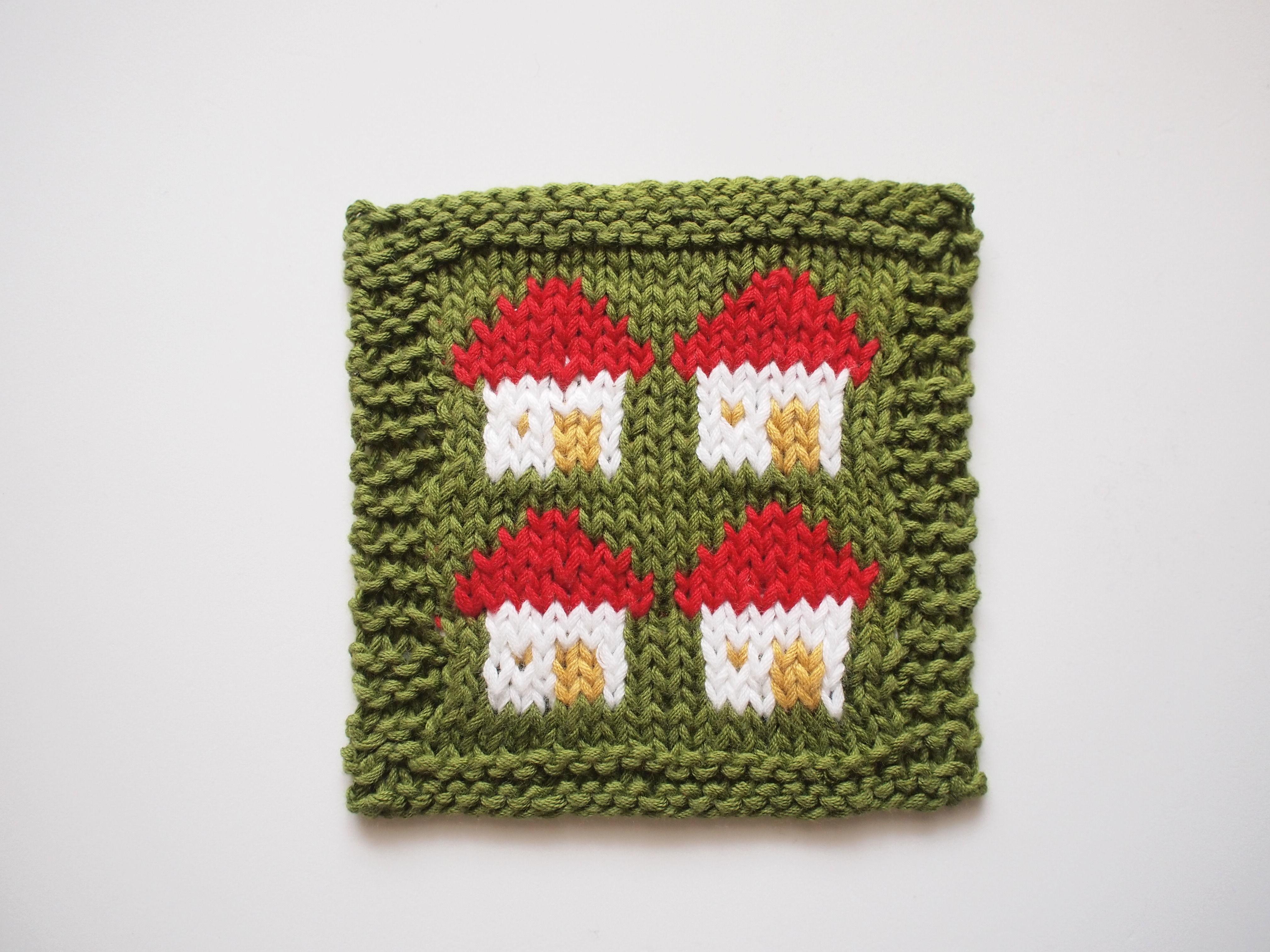 編み込みマットのキット お家 マグ