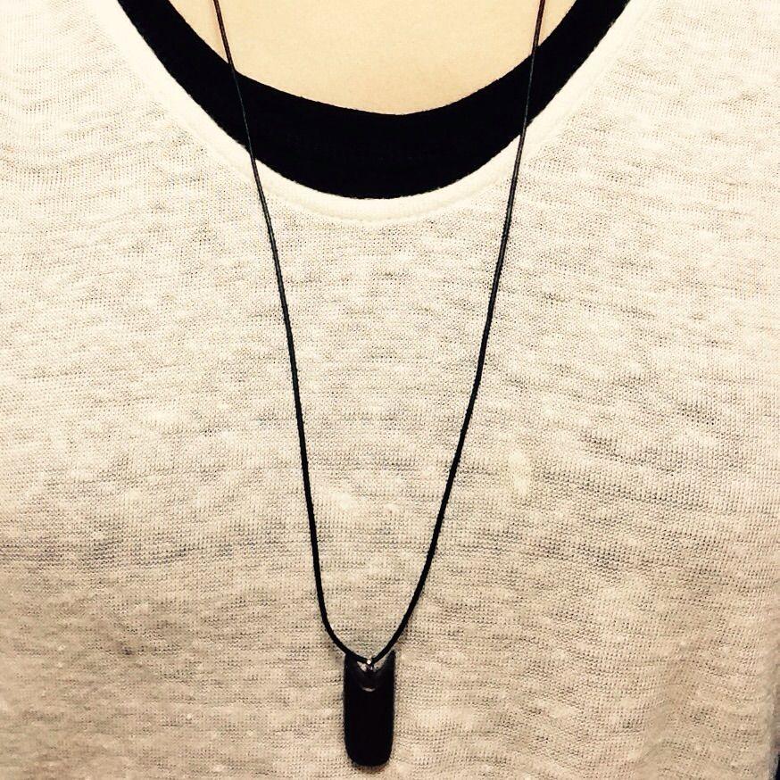 ☆黒檀使用 ネックレス