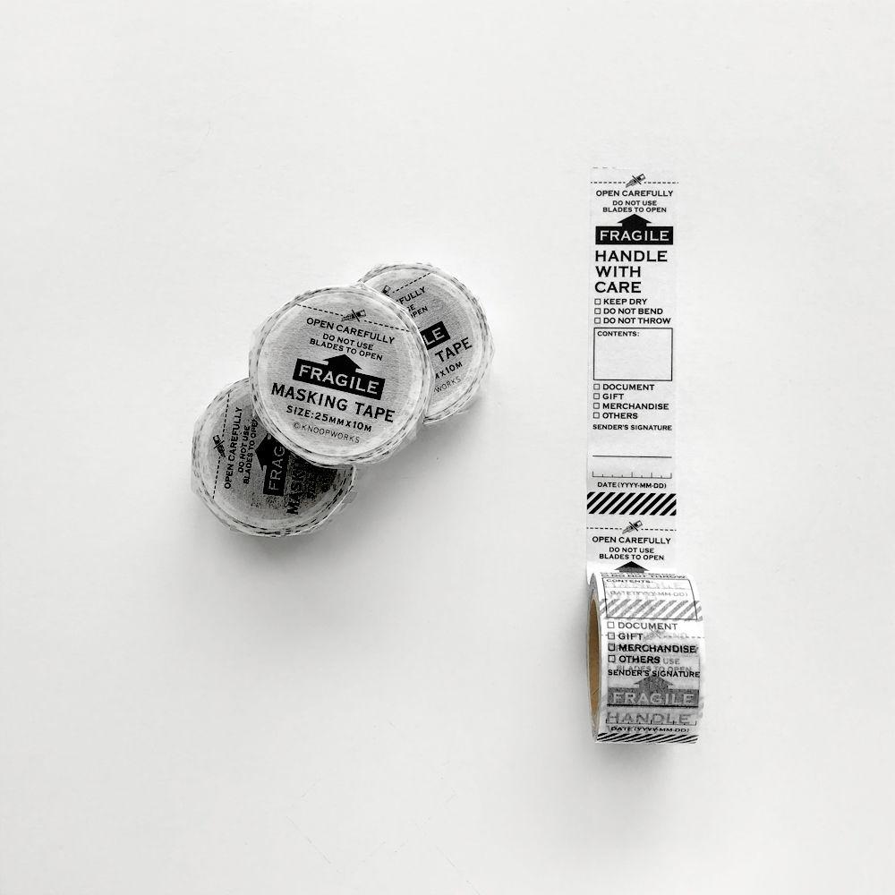 FRAGILE マスキングテープ