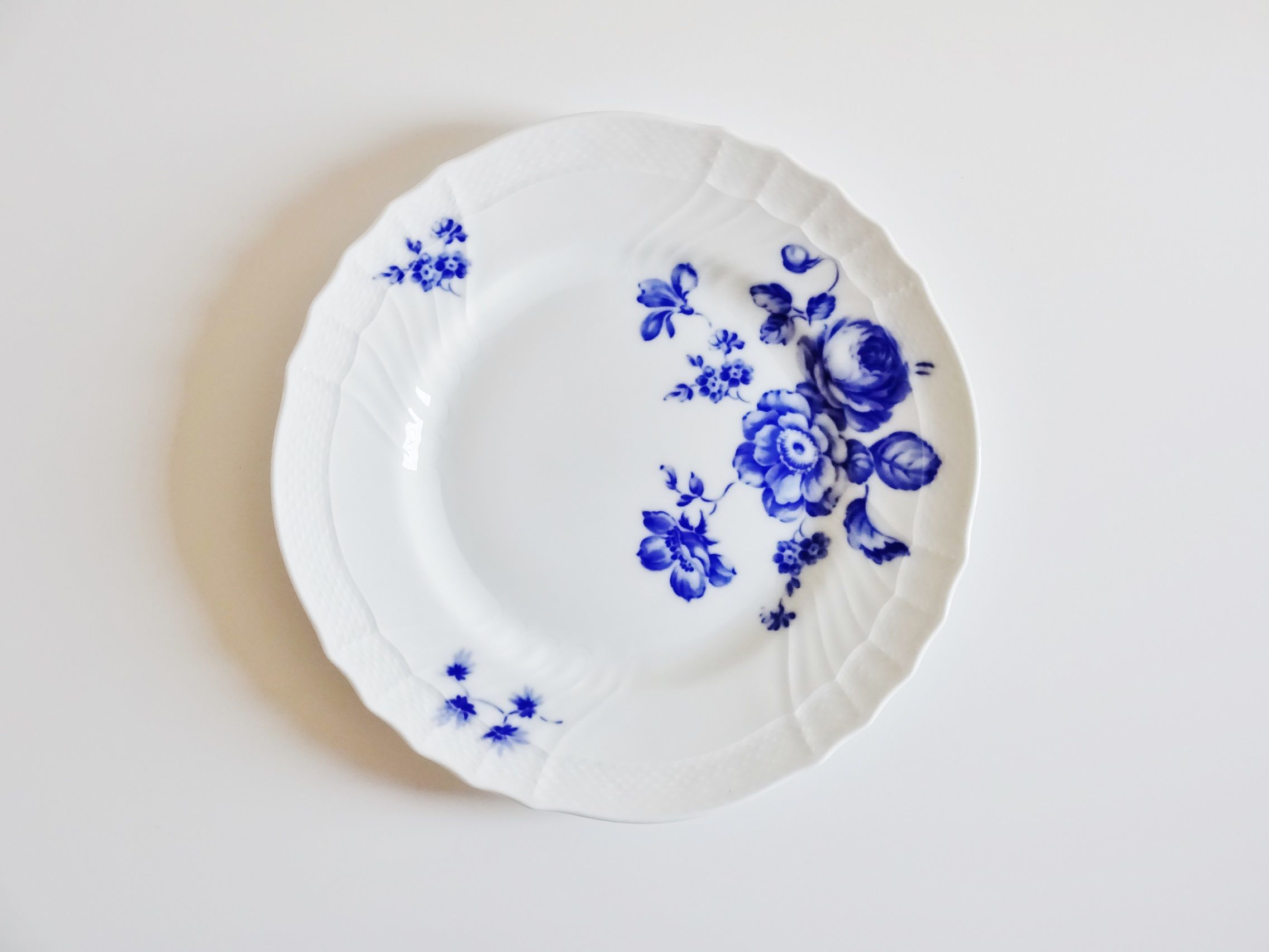 リチャードジノリ ローズブルー  プレート21,5cm