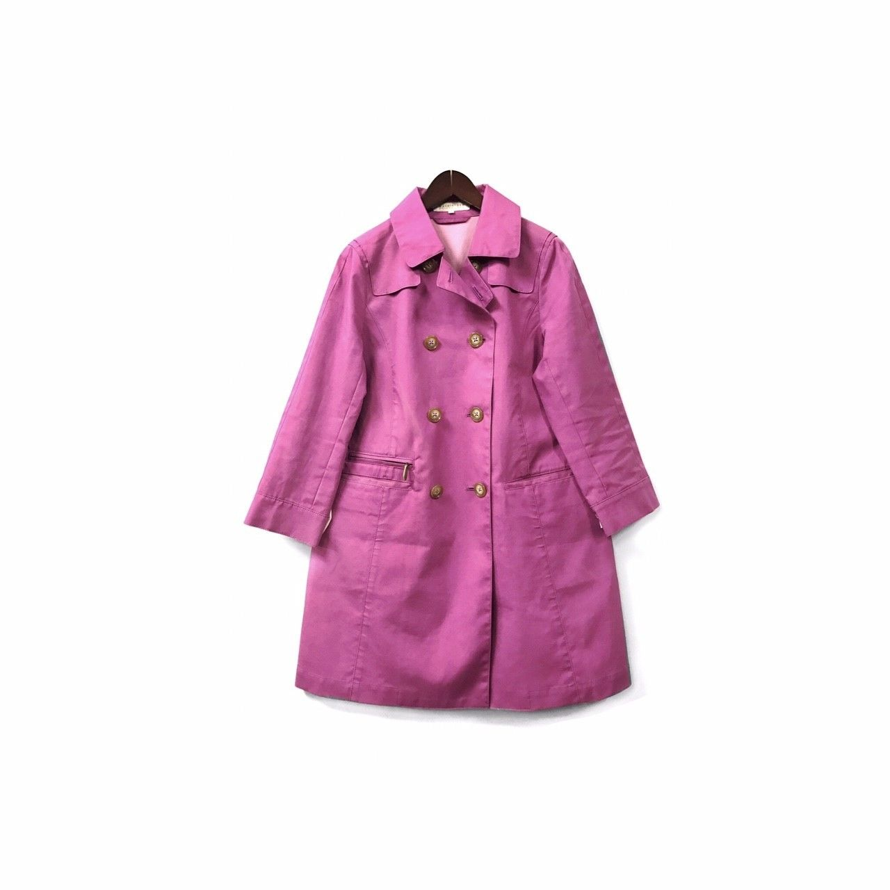 """ MACKINTOSH philosophy "" Trench Coat (size - 38) ?15000+tax【着画あり】"