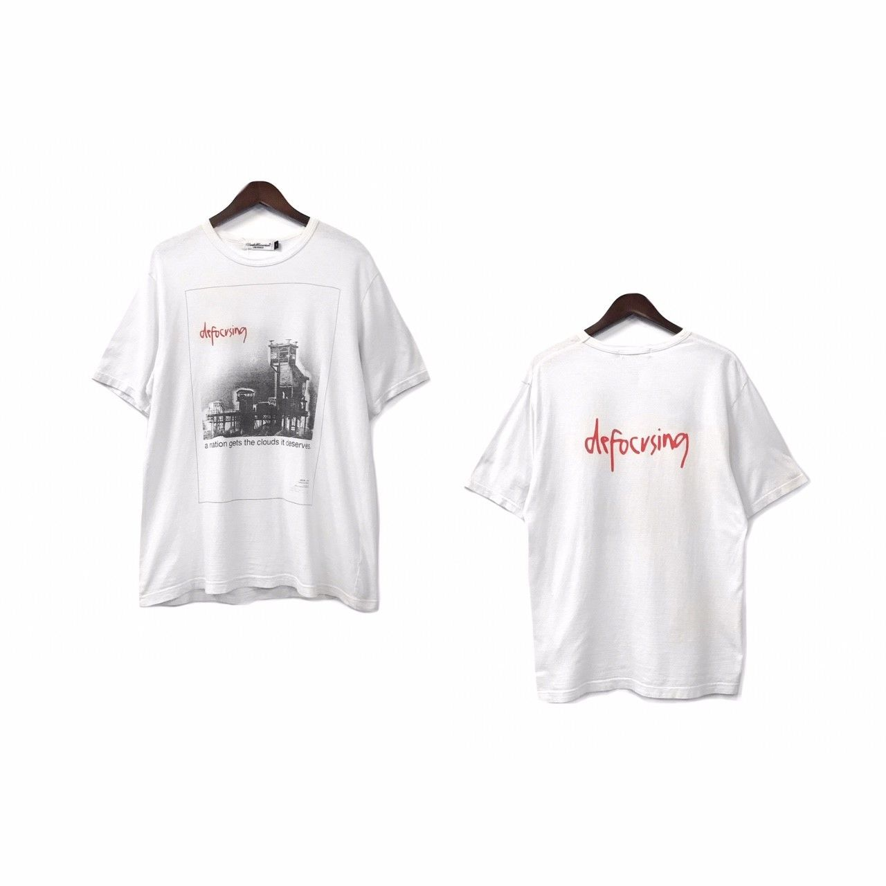 """"""" UNDERCOVERISM """" Print Tee (size - 3) ?7000+tax【着画あり】"""