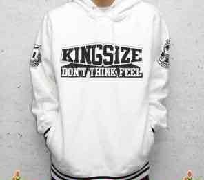KINGSIZE /10th anniversary hoody