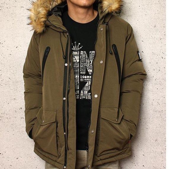 KINGSIZE  /blunt hooded jacket