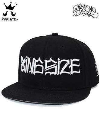 KINGSIZE × CASPER /logo snap back cap