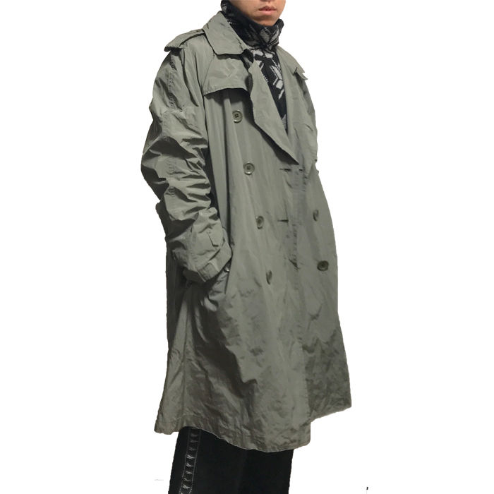 【USED】RAIN TRENCH COAT