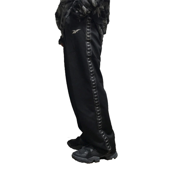 【USED】90'S  REEBOK VECTOR LINE TRACK PANTS