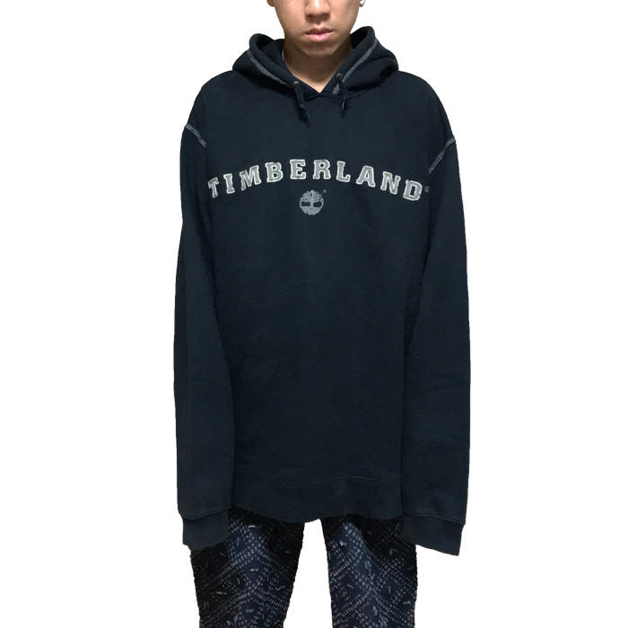 【USED】90'S TIMBERLAND OVERSIZED HOODIE