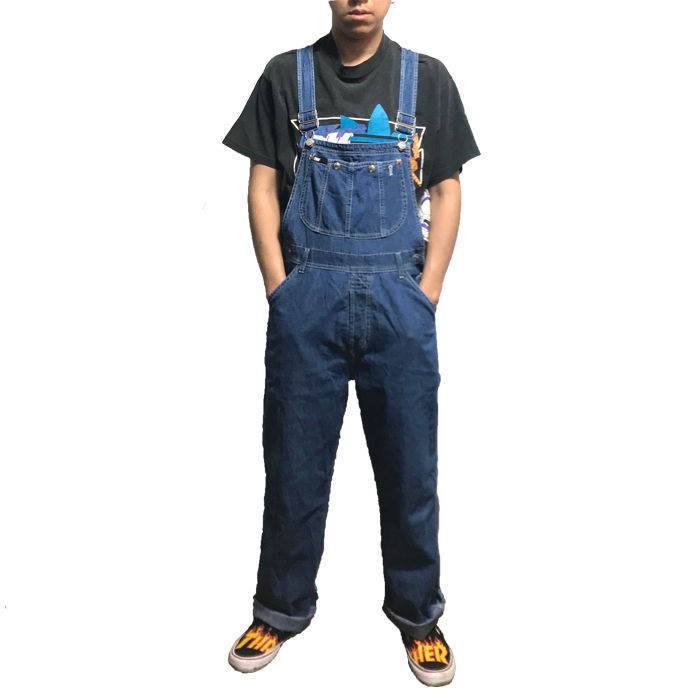 【USED】90'S DKNY JEANS DENIM OVERALLS
