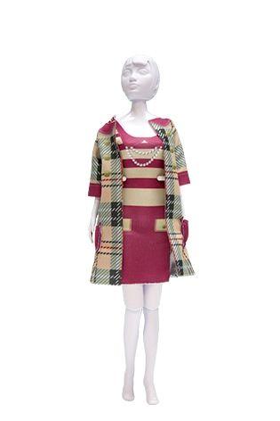 Lev.2 お人形の洋服作り Dress your doll -クラッシック-