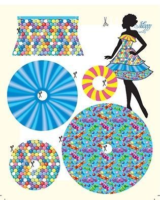 Lev.1 着せ替え人形のお洋服作り Dress your doll  -candy-