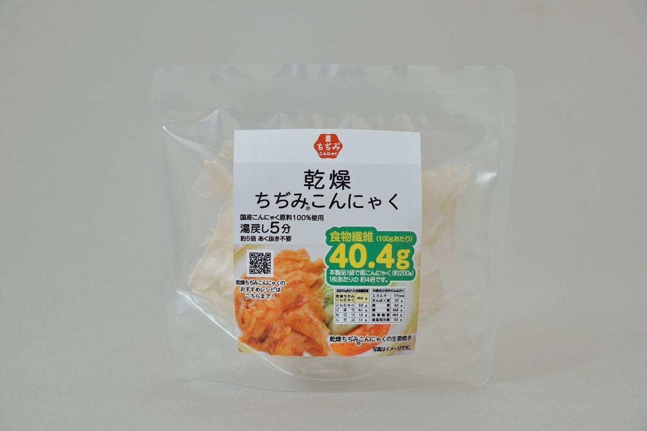味しみ一番!たかあきの乾燥ちぢみ(R)こんにゃく           規格:15g入 1袋