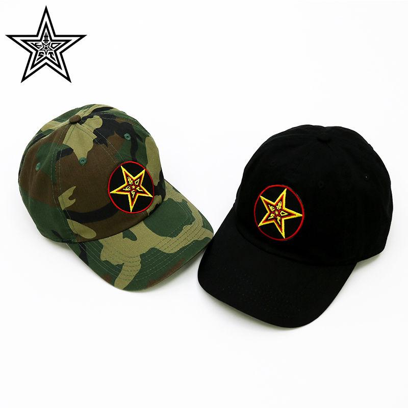 #KSTD LOGO 6 PANEL CAP