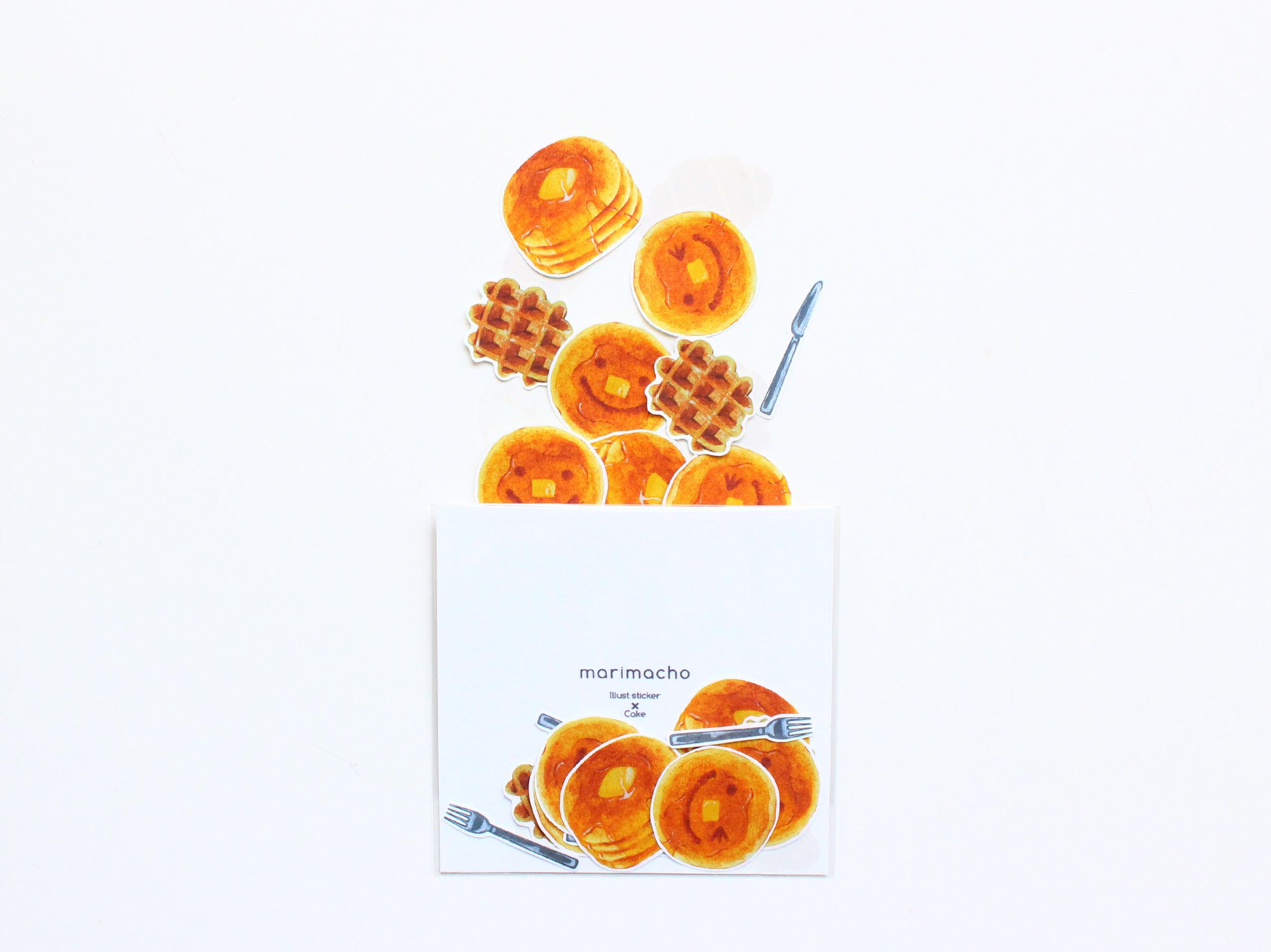イラストフレークシール-Cake-