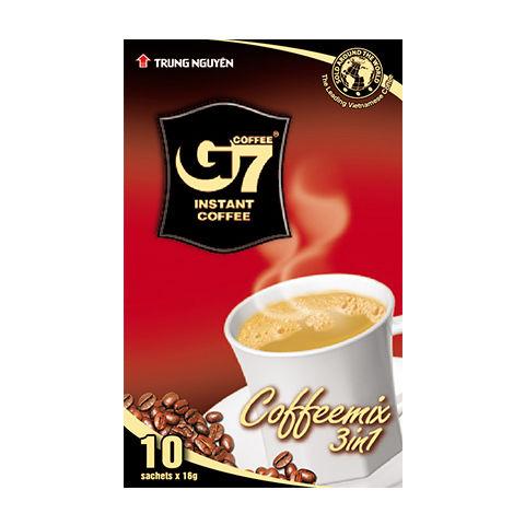 カフェオレ インスタント 【10袋入り/BOX】 G7 3in1 instant coffee 【正規輸入品】