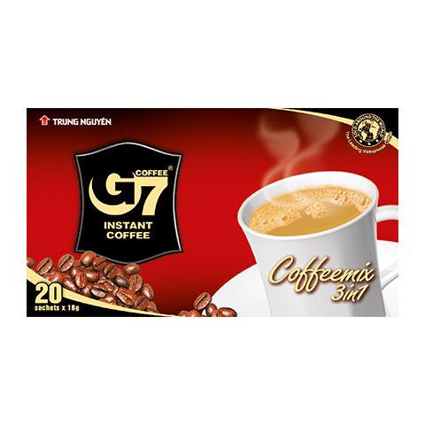 カフェオレ インスタント 【20袋入り/BOX】 G7 3in1 instant coffee 【正規輸入品】